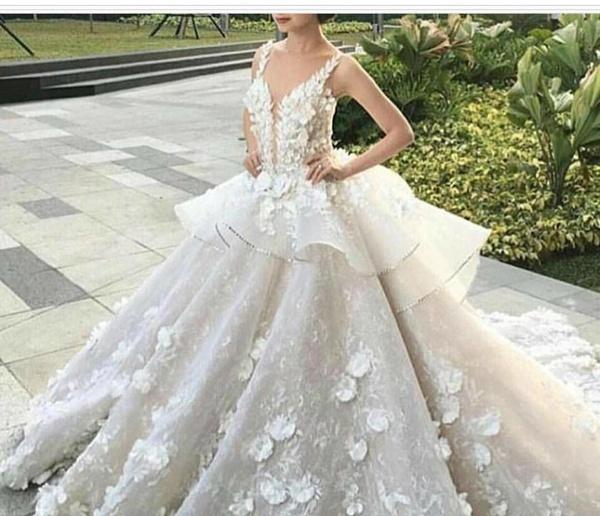 روح الاناقة لفساتين الزفاف