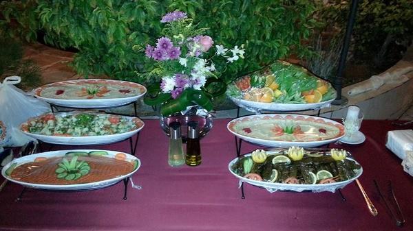 مطعم الركن الشامي