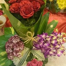 زهور دينا
