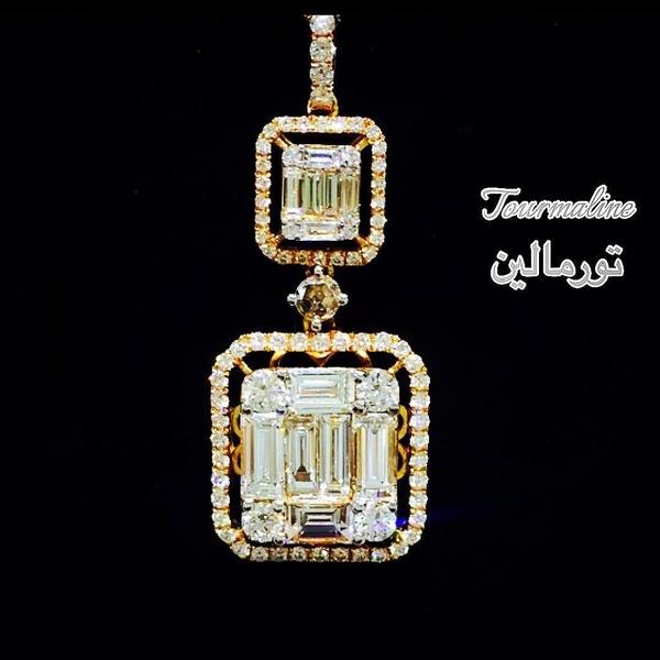 مجوهرات تورمالين