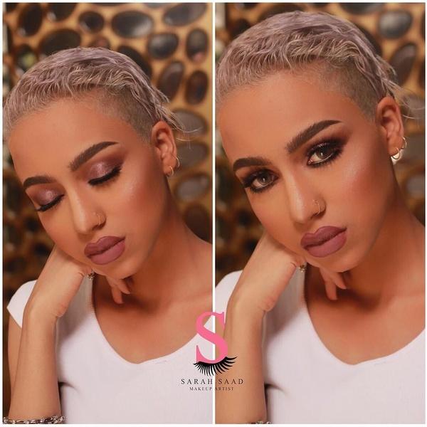 خبيرة التجميل ساره سعد