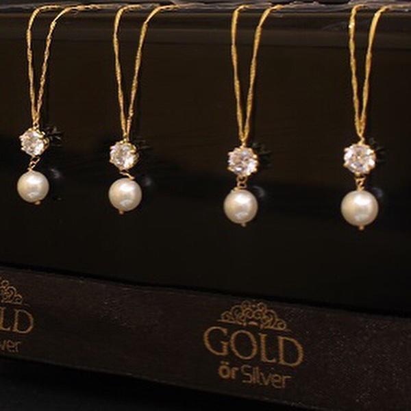 مجوهرات الذهب او الفضة