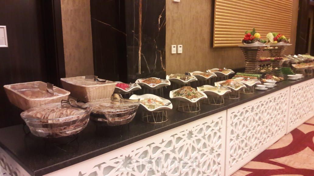 بوفيه كراون بلازا الرياض آر دي سي للحفلات الخارجية