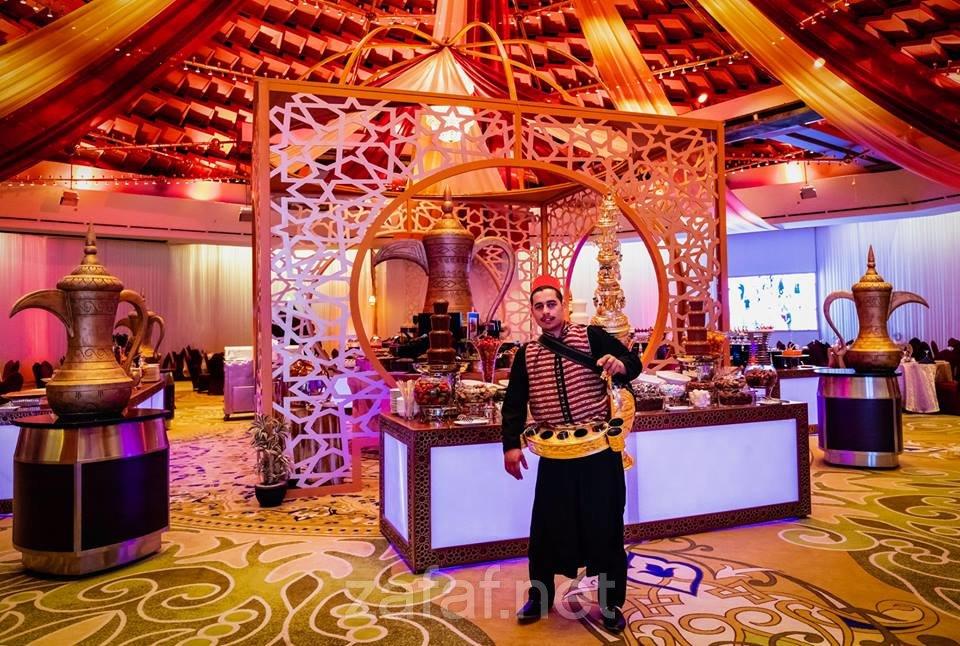 بوفيه فندق انتركونتيننتال الرياض للحفلات الخارجية