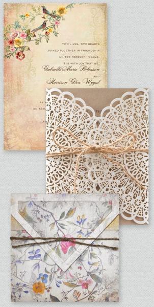 برايد اند غروم لبطاقات الزفاف