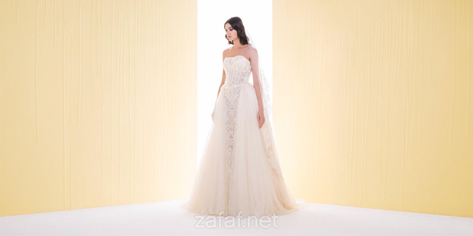 14fccab2f فساتين زفاف سعيد قبيسي 2016