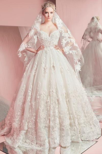2edfe994e فساتين زفاف فخمه