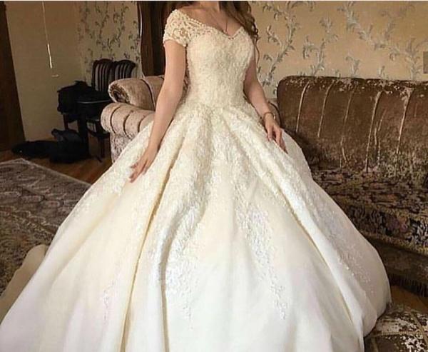 f25f9691f9dc9 صور فساتين زفاف 2017