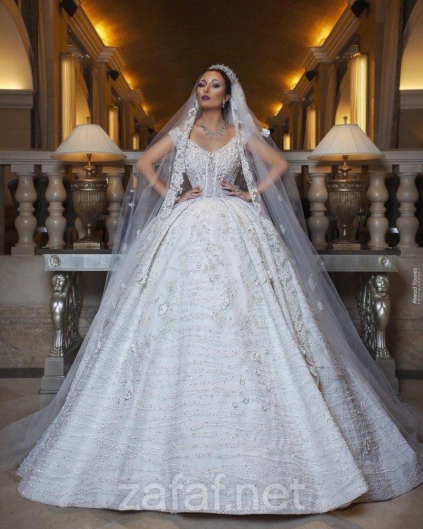 31662bcc4 صور فساتين زفاف 2019